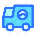 Laundry Truck Housekeeping Icon