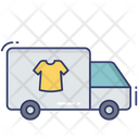 Laundry Truck Delivery Van Delivery Icon