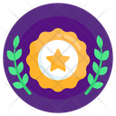 Honor Laurel Achievement Laurel Wreath Icon