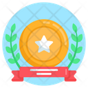 Honor Laurel Reward Achievement Icon