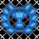 Laurel Wreath Award Trophy Icon