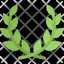 Laurel Wreath Country Icon
