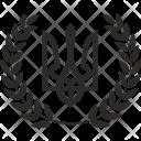 Laurels Ukraine Icon