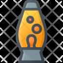 Lava Lamp Retro Icon