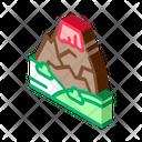 Lava Mountain Icon
