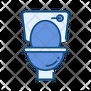 Lavatory Commode Bathroom Icon