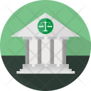 Law Court Building Icon