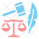 Law Mallet Justice Icon
