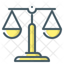 Law Scales Right Balance Icon