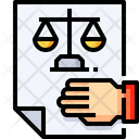 Law Oath Justice Icon