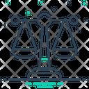Law Justice Syllogism Icon