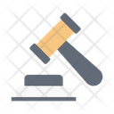 Auction Law Court Icon