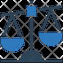 Law Justics Balance Scale Icon