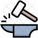 Law Hammer Justic Icon