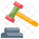 Law Judgment Trial Icon