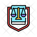 Law Scales Justice Icon