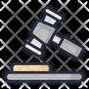 Law Verdict Justice Icon