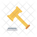 Law Hammer Justice Icon