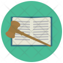 Law Book Bongle Icon