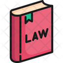 Law Book Library Icon
