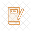 Law Book Book Law Boo Icon