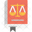 Law Book Law Justics Icon
