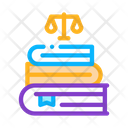 Justice Books Law Icon
