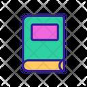 Judgement Book Contour Icon