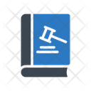Law Book Court Icon