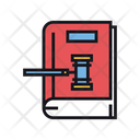 Law Book Law Book Online Law Record Icon