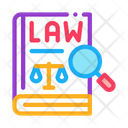 Law Justice Notary Icon