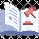 Law Book Justice Icon