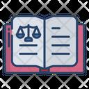Law Book Justice Book Justice Icon