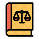 Book Justice Law Icon