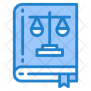 Law Book Learning Icon