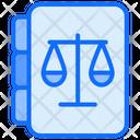Law Book Justice Book Constitution Book Icon