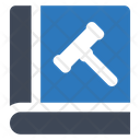 Law Book Book Law Dictionary Icon