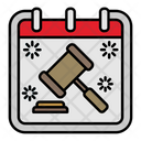 Law Day Calendar Icon