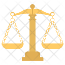 Law America Justice Icon