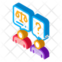 Court Charge Notary Icon