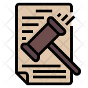 Law Document Law Paper Justice Icon