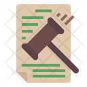 Law Document Icon