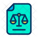 Document Law Rules Icon