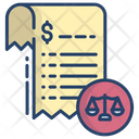 Law Document Justice Document Document Icon
