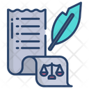Law Documents Criminal Law Legal Papers Icon
