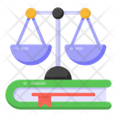 Law Education Literary Justice Educational Balance Icon
