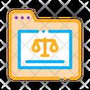 Law Folder Icon