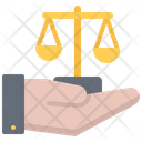 Law in hand Icon