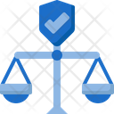 Law insurance Icon