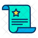 Law Document File Icon